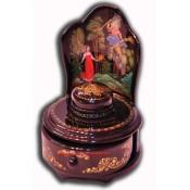 Vasilissa the Beautiful - Palekh Lacquer box