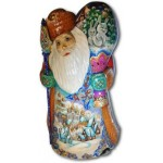 Winter Holidays - Wooden Santa Claus