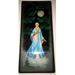 Snowmaiden - Fedoskino Lacquer Box by Kozlov