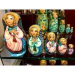 Angels Golden locks Matryoshka Dolls
