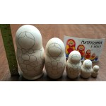 Russian Matryoshka Nesting Dolls Painting Kit