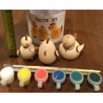 Russian Easter Chickens Painting Kit